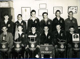 F.F.A. boys and Harold Garver circa 1949
