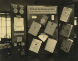 Display of F.F.A. printed materials at Shawnee Mission Rural High School circa 1938
