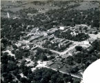 Aerial view of downtown Olathe