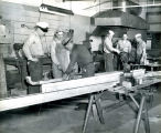 Group of six metalworkers