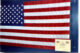 Flag flown over the U.S. Capitol on June 1, 2001