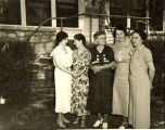Merriam Homemakers Club in 1936