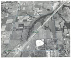 Aerial photograph of I-35 and 87th Street