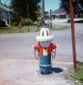 Painted fire hydrant in Shawnee in 1976