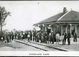 People at Overland Park depot